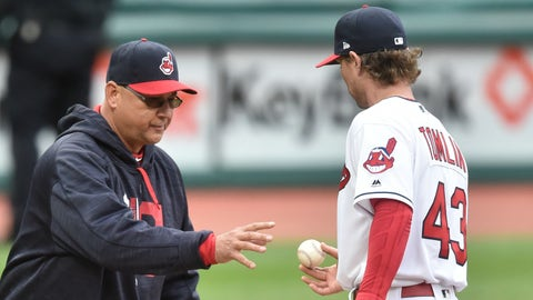 Who are these guys, and what have they done with the Indians' rotation?