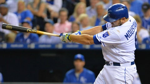 Mike Moustakas, 3B, Royals
