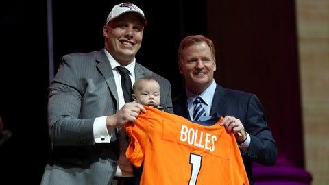 Garett Bolles, OT, Broncos: 20th overall