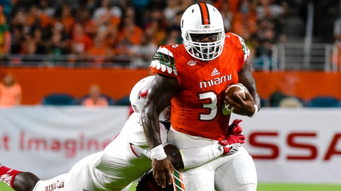 Marquez Williams -- FB, Miami (7th round, 240th overall)