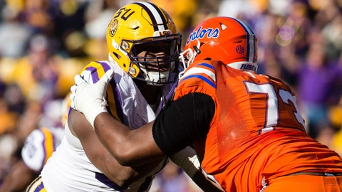 Davon Godchaux -- DT, LSU (Fifth round, 178th overall)