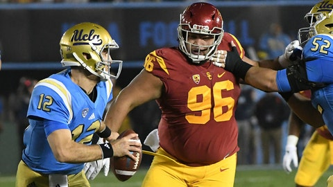 Stevie Tu'ikolovatu -- DT, USC (7th round, 223rd overall)