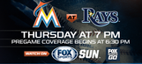 Thursday, May 4: Miami Marlins at Tampa Bay Rays game preview