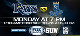 Monday, May 8: Kansas City Royals at Tampa Bay Rays game preview