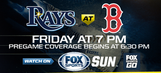 Preview: Rays open three-game series vs. Red Sox at Fenway Park