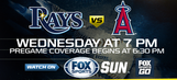 Preview: Rays aim to wake bats up in Game 3 against Angels