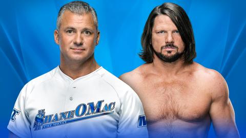 AJ Styles vs. Shane McMahon