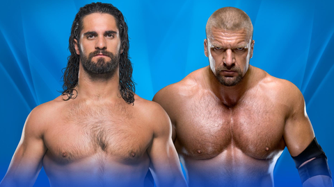 Seth Rollins vs. Triple H in an unsanctioned match