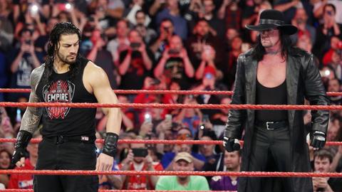 Roman Reigns vs. The Undertaker
