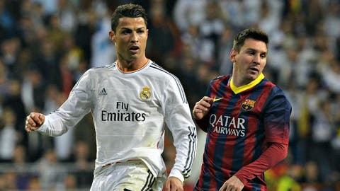 Ronaldo & Messi's best performances in El Clasico