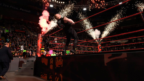 Goldberg vs. Brock Lesnar for the Universal Championship