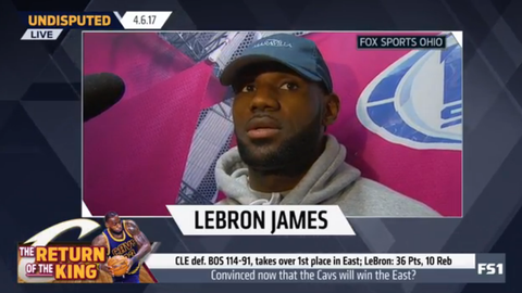 LeBron James: This was not a statement win