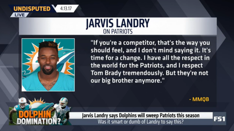 Jarvis Landry: The Dolphins will sweep the Patriots