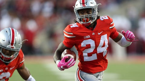 Titans (TRADE with Browns, from Eagles): Malik Hooker, S, Ohio State