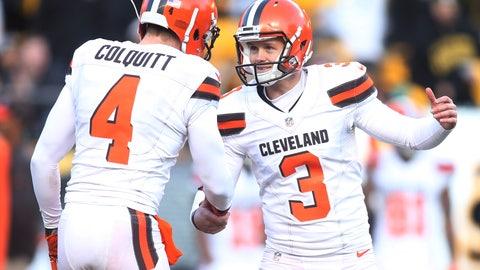 Cleveland Browns - 8:15 p.m. ET