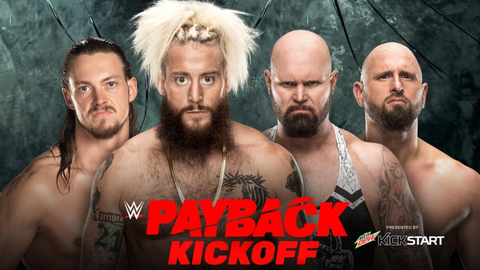 Kickoff show: Enzo Amore and Big Cass vs. Luke Gallows and Karl Anderson