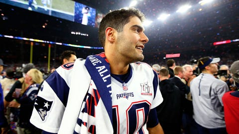 Eric Mangini: If Bill Belichick believes in Garoppolo, he can't afford to trade him