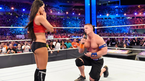John Cena on how long he'd been planning to propose: