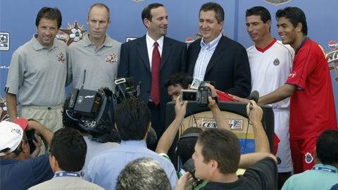 2003 — MLS All-Stars vs. Guadalajara