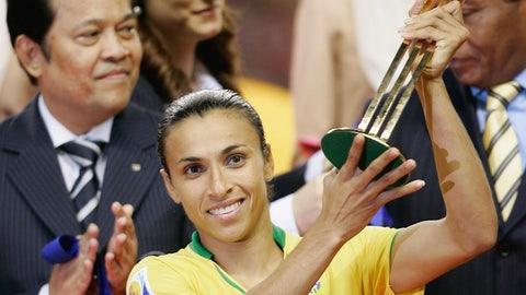 2007 Women's World Cup Golden Ball