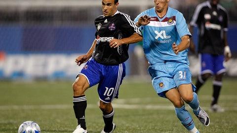 2008 — MLS All-Stars vs. West Ham United
