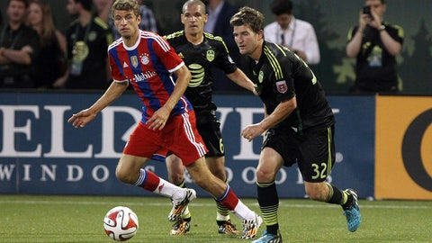 2014 — MLS All-Stars vs. Bayern Munich