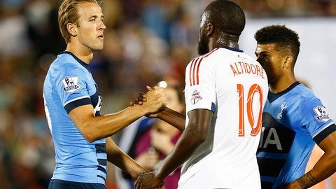 2015 — MLS All-Stars vs. Tottenham Hotspur