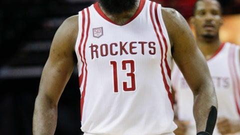 Rockets G James Harden