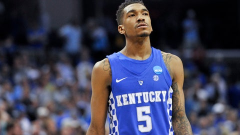 Sacramento Kings: Malik Monk, G, Kentucky (freshman)