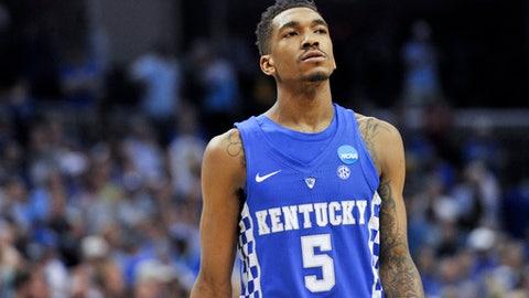 Sacramento Kings: Malik Monk, G, Kentucky (freshman)