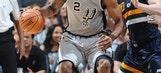 Leonard's 25 points help Spurs hold off Jazz, 109-103