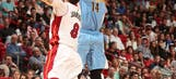 Gallinari carries desperate Nuggets past Heat, 116-113