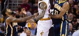 LeBron's 41 helps quarreling Cavs hold off Pacers in 2 OTs