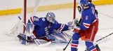 Rangers hold on to beat Flyers for first home win in 6 weeks