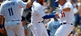Pederson, Dodgers hit team-mark 4 HRs in opener, rout Padres