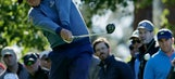 Dufner eagles twice to lead RBC Heritage through 3 rounds. (Apr 15, 2017)