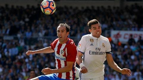 Central defender - Diego Godin