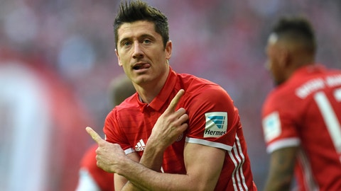 Robert Lewandowski staying involved