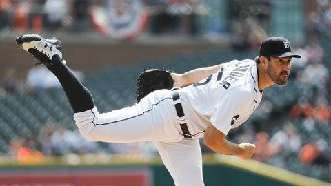 Justin Verlander: Detroit Tigers, 2008 (11 qualifying seasons)