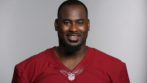 This is a 2016 photo of Junior Galette of the Washington Redskins NFL football team. This image reflects the Washington Redskins active roster as of Monday, June 13, 2016 when this image was taken. (AP Photo)