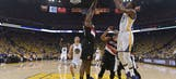 Durant shines in Golden State playoff debut in Game 1 win (Apr 16, 2017)