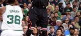 Bulls top Celtics 106-102; Thomas plays after sister's death (Apr 16, 2017)