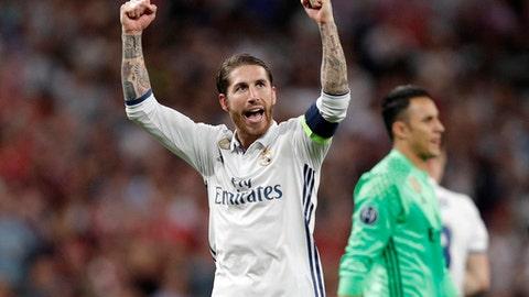 Sergio Ramos' flair for the dramatic
