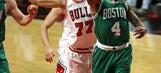 Thomas scores 33, Celtics beat Bulls 104-95 to tie series (Apr 23, 2017)