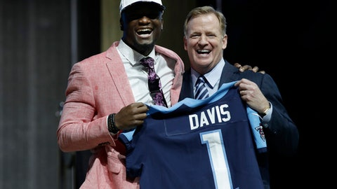 Corey Davis gets a year to assimilate