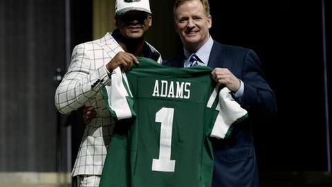 New York Jets: S Jamal Adams (1st round, No. 6)