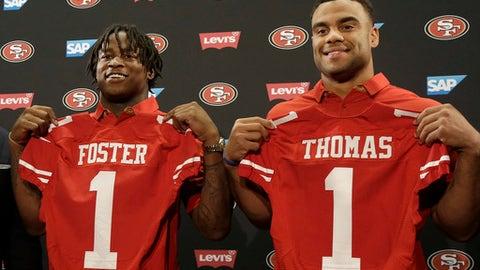 San Francisco 49ers: LB Reuben Foster (1st round, No. 31)