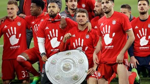 Bayern remain untouchable
