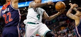 Thomas' 33, Celtics' 3s too much for Wizards in 123-111 win (Apr 30, 2017)