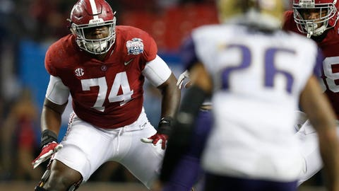34. Jacksonville Jaguars (via trade with Seattle Seahawks): Cam Robinson, OT, Alabama